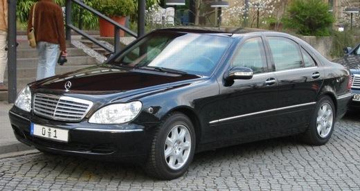 Gepanzerter S-Klasse-Mercedes
