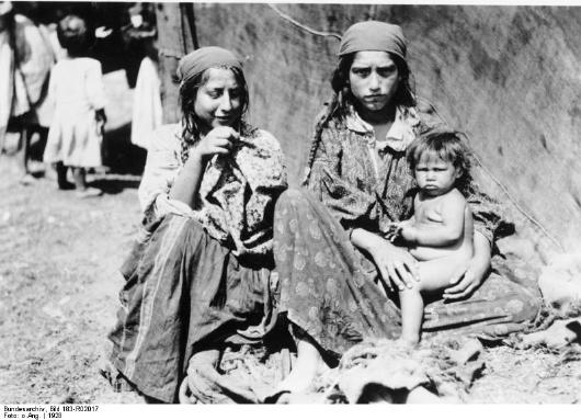Sinti- und Romafrauen 1928
