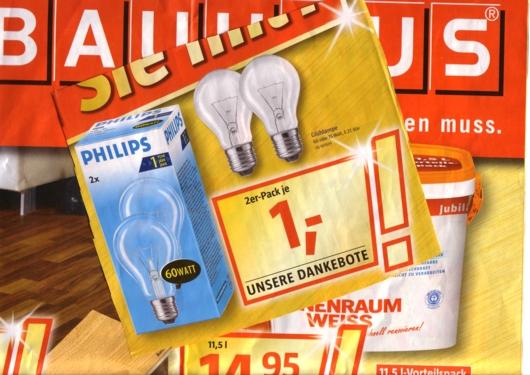 Bauhaus-Glühbirnen