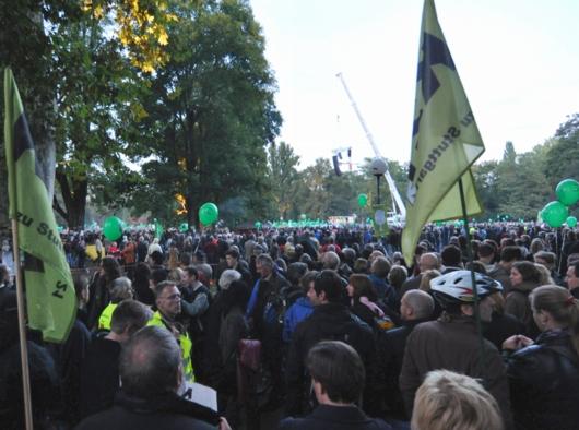 Stuttgart21-Protest