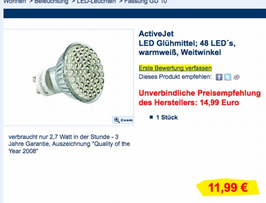 Schlecker-LED
