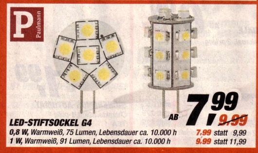 G4-Stiftsockel-LED