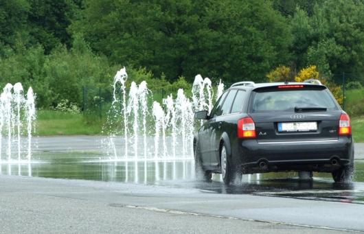 Sicherheitstraining Wasserwand
