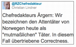 Lindner-Tweet