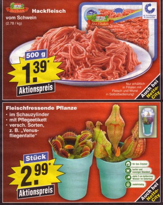Netto-Fleischpflanzerl