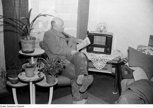Radiohörer 1952