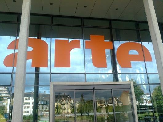 Arte-Eingang