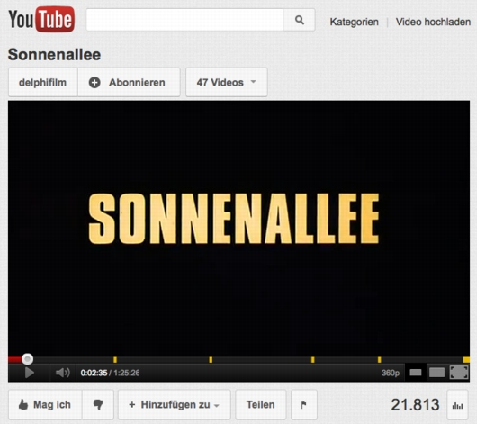 Sonnenallee YouTube