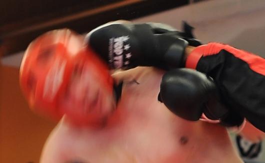 Kickbox-Tritt