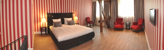 Hotelzimmer-Tapete