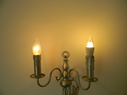E14-Kerzenvergleich