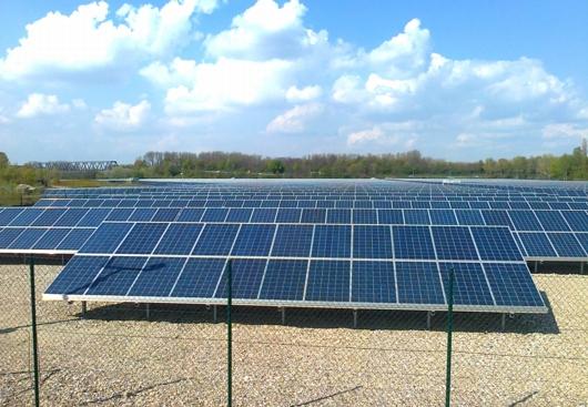 Solarkraftwerk Iffezheim1