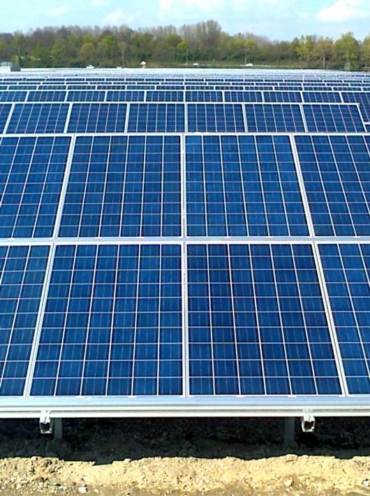 Solarkraftwerk Iffezheim 2