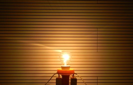 60W-Glühlampen-Leuchtbild