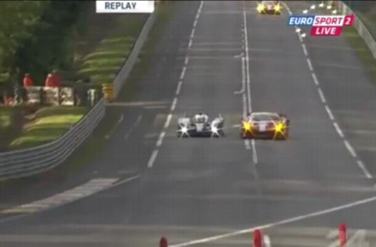 Le Mans Unfall
