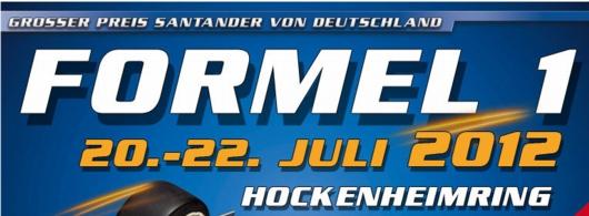F1-Plakat Hockenheim 2012