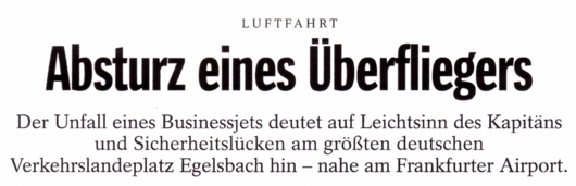 Spiegel-Schlagzeile