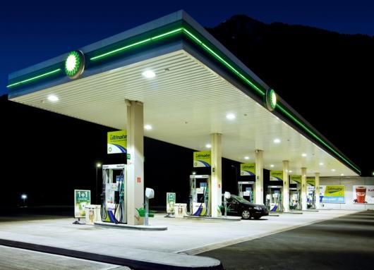 Tankstelle Tauernalm LED