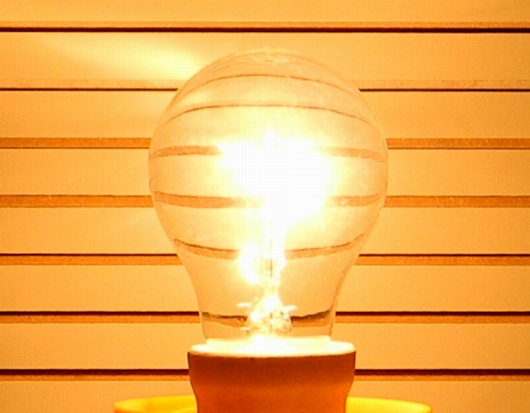 60W-Gluehlampe