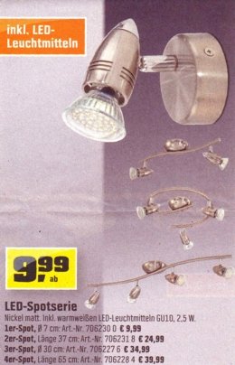 OBI-Biber-LED-Spotserie