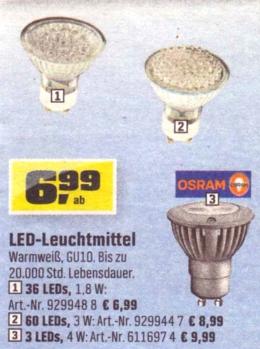 OBI-GU10-LEDs