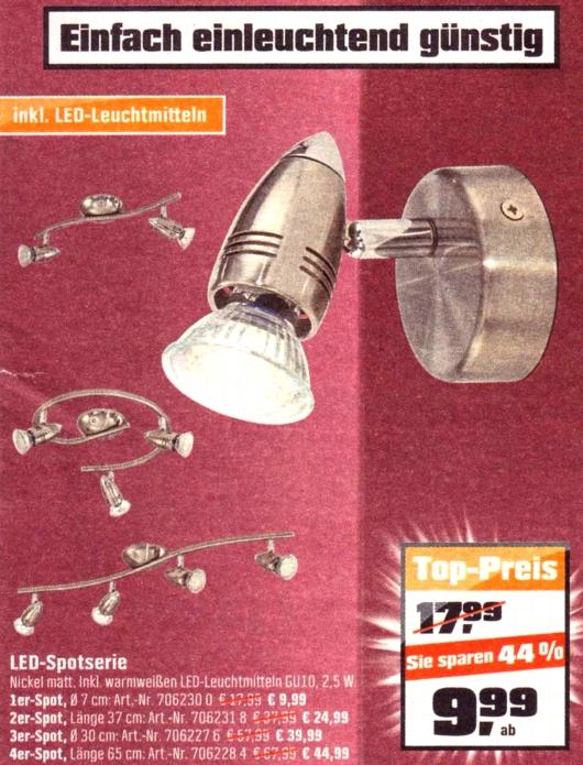 OBI-LED-Spotserie