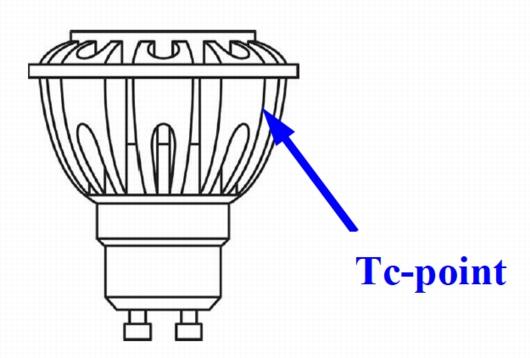 Osram-Spot Tc-Punkt