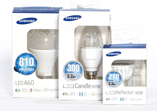 Samsung LED-Sortiment