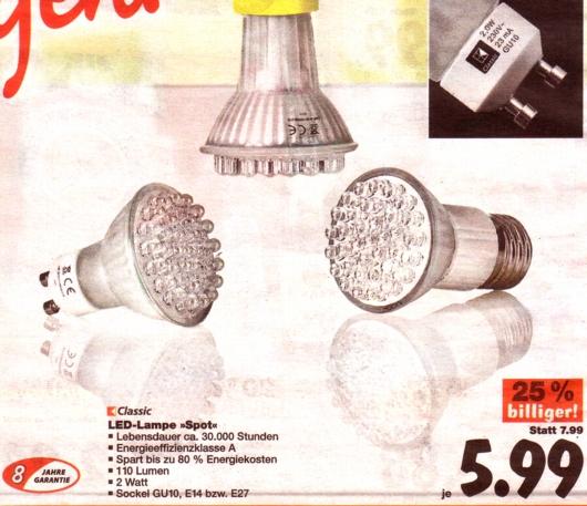 Kaufland-LED-Garantie