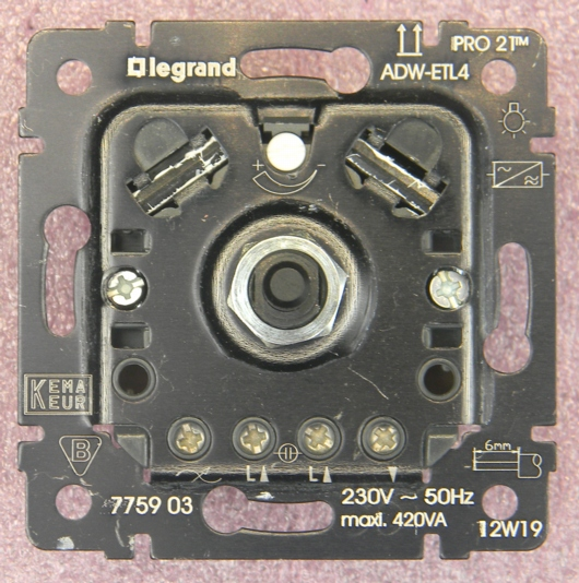 Legrand-Dimmer ADW-ETL4