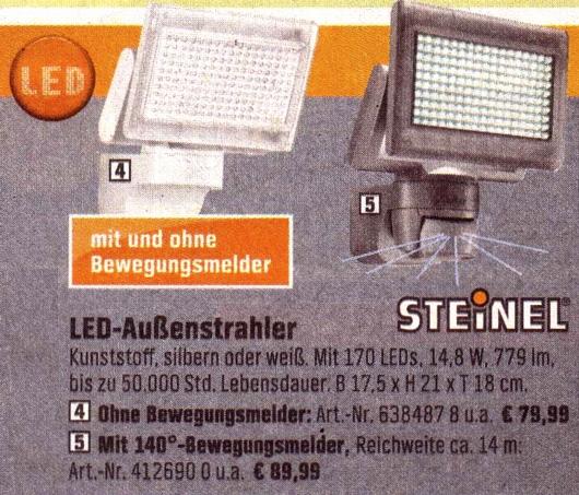 OBI-LED-Ideen-Steinel