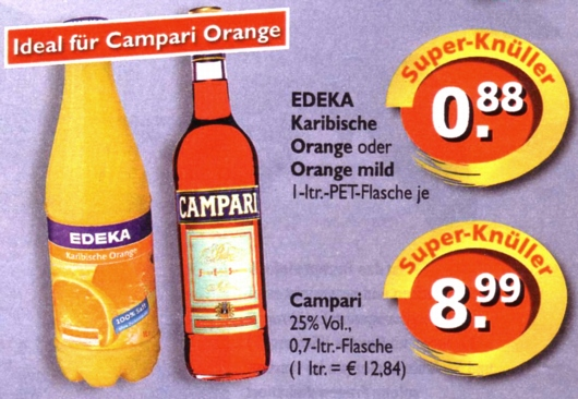 Edeka-Campari