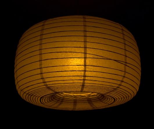 Sunset Dimming Lampenschirm dunkel