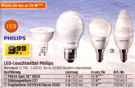 OBI-Philips-LED-Lampen
