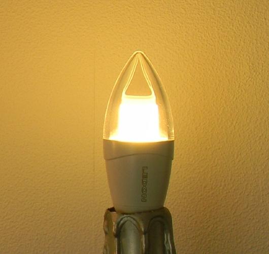 LEDON E14-Kerze klar