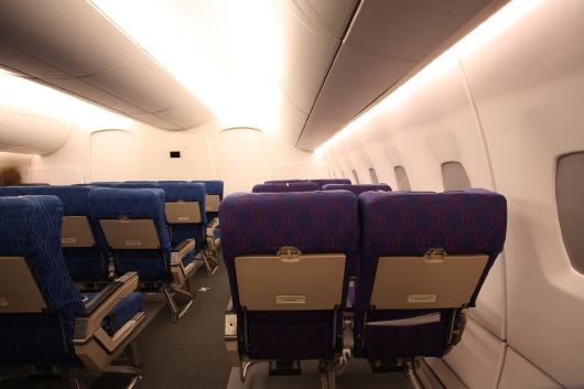 Osram-LED-Flugzeuglicht rötlich