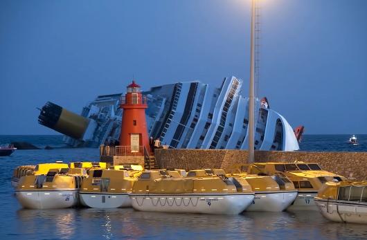 Sinkende Costa Concordia