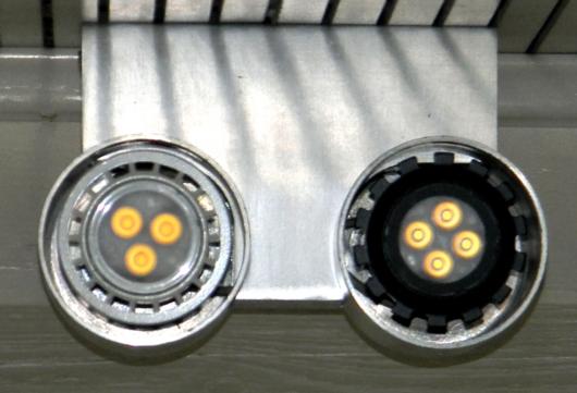 LEDON-GU10-Spots-Strahler aus