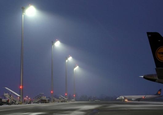 LED-Strahler Flughafen München