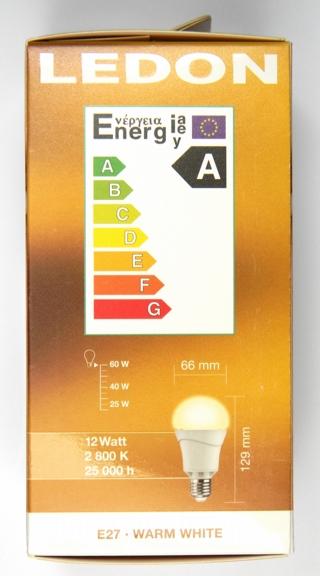 LEDON-12-Watt-LED-Lampe Verpackung