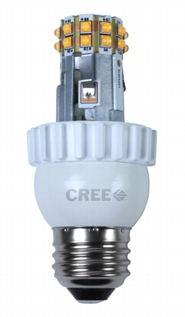 Cree-Lampe offen