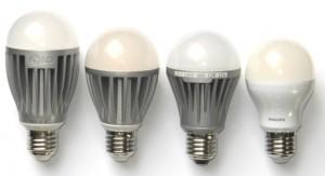 A60-LED-Vergleich Größe