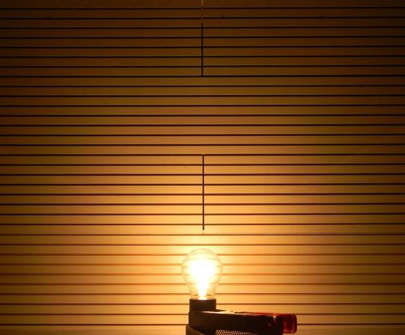 Glühlampe 60 Watt Leuchtbild