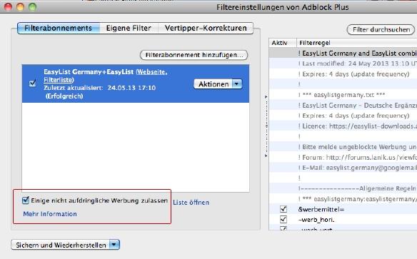 Adblock-Filter