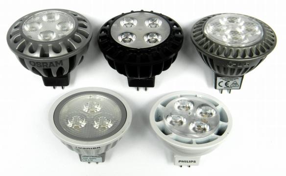 GU5.3-Testlampen