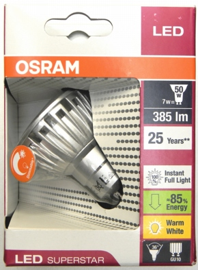 Osram-7W-Superstar-Packung