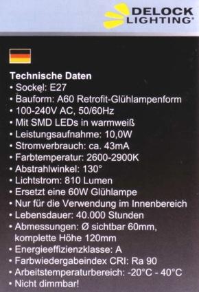Delock-E27-Daten