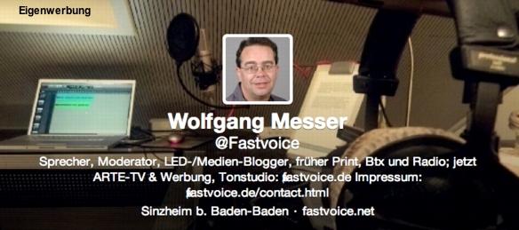 Fastvoice-Eigenwerbung neu