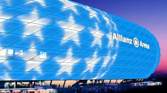 Allianz Arena Design-Studie
