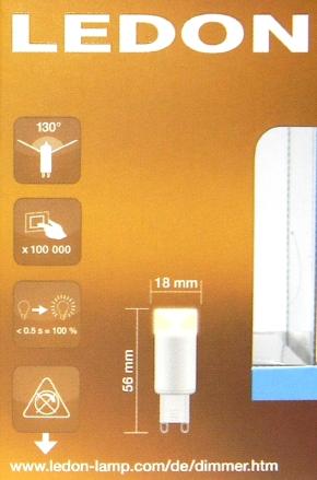 LEDON-G9-Packung-hinten